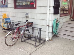 Dark Horse Bike Parking