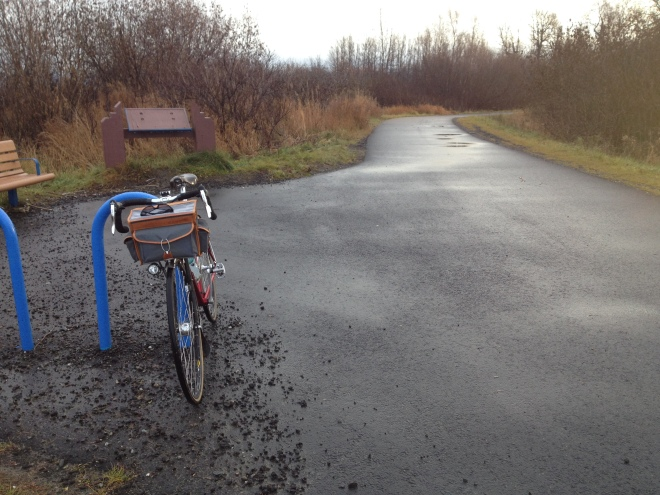 Recently re-paved Coastal Trail