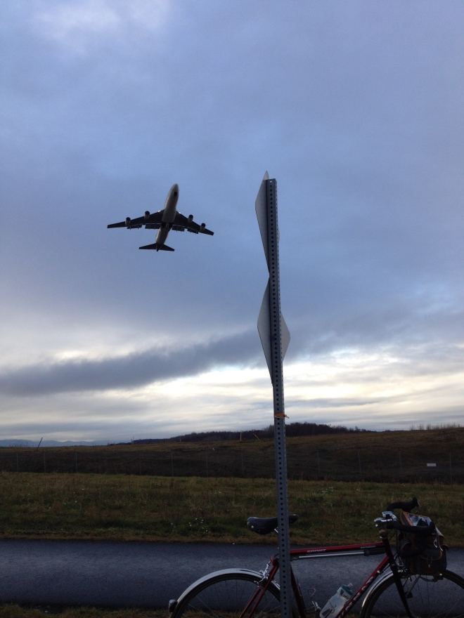 Point Woronzof jet watching