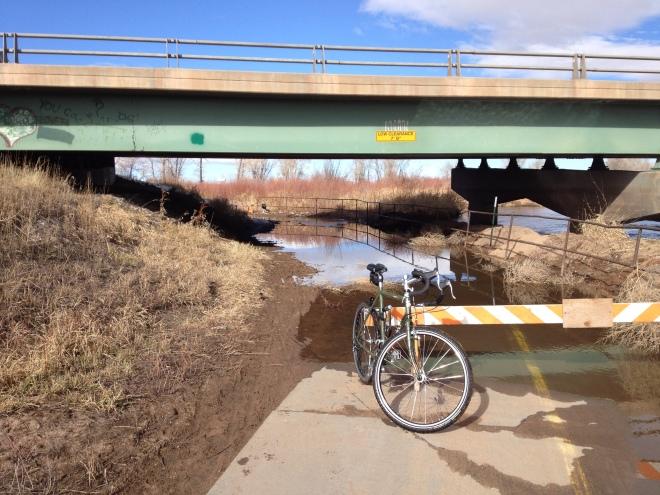 Trail Flooding