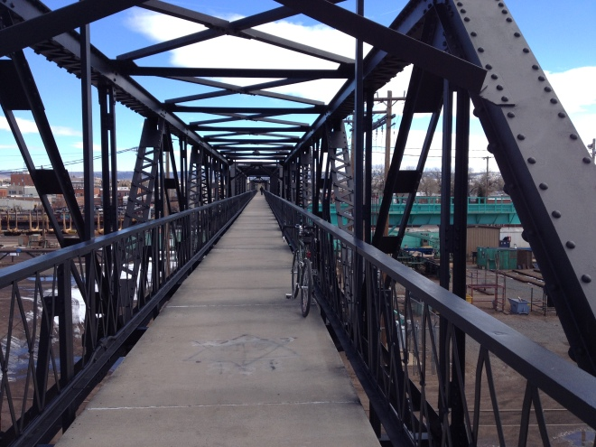 Bridge over Rail Yard