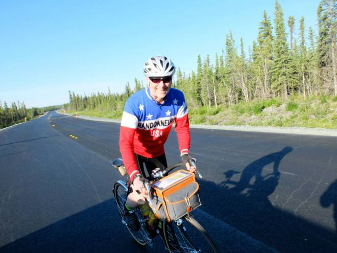 600K Brevet.  Wonderful ride on the Richardson Highway! (photo by Kevin Turinsky)